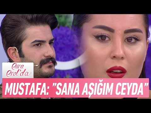 "Mustafa: ""Sana Aşığım Ceyda"" - Esra Erol'da 6 Haziran 2017"