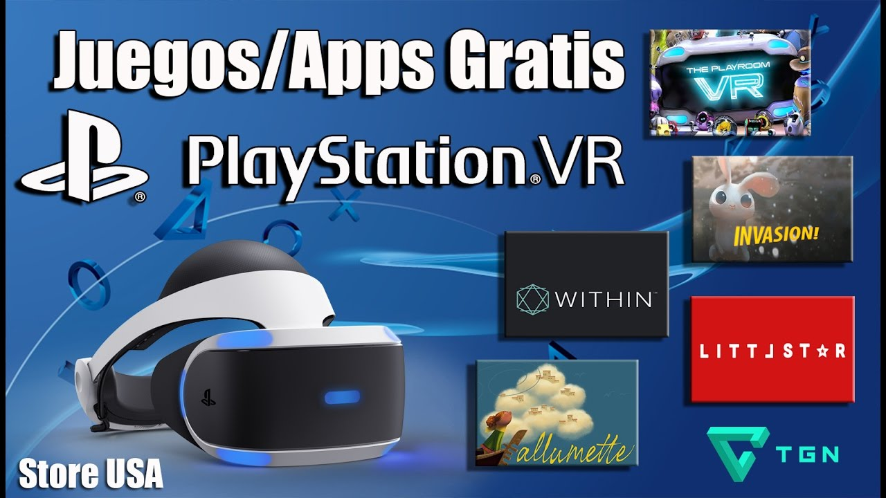 Playstation Vr Juegos Gratis Apps Youtube