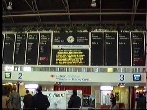 Charing Cross to Waterloo East - December 1990