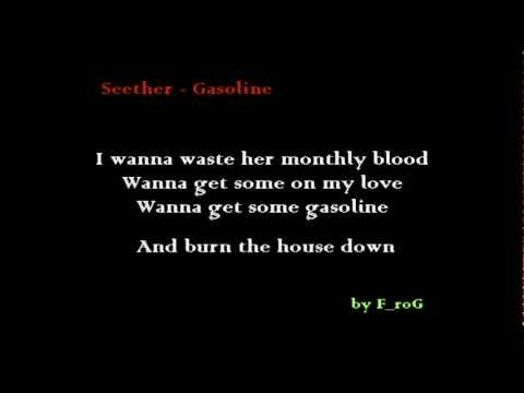 Seether - Gasoline (lyrics)