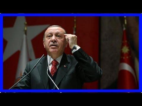 erdoğan : Turkey's erdogan says kurd militia-held town has to be cleared of 'terrorists' ahead of m