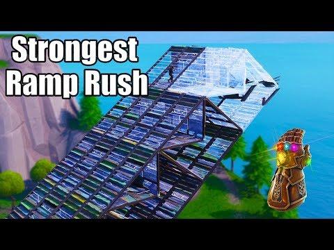 The Thanos Ramp Rush (Strongest Ramp Rush) - Fortnite Battle Royale