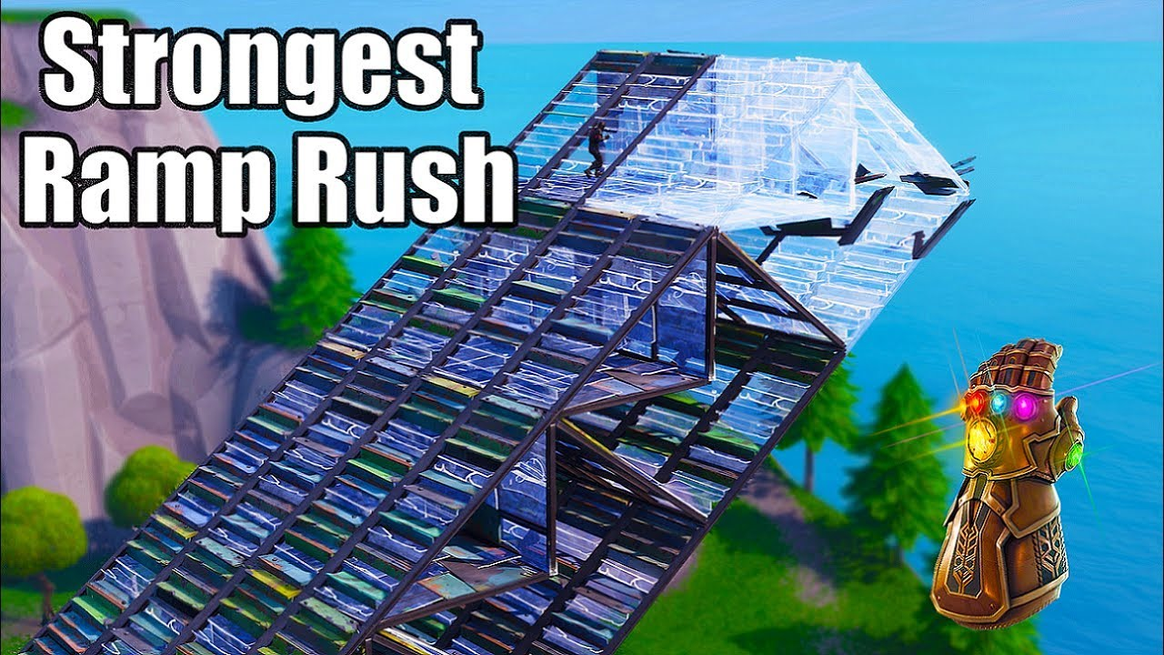 The Thanos Ramp Rush (Strongest Ramp Rush) - Fortnite Battle Royale