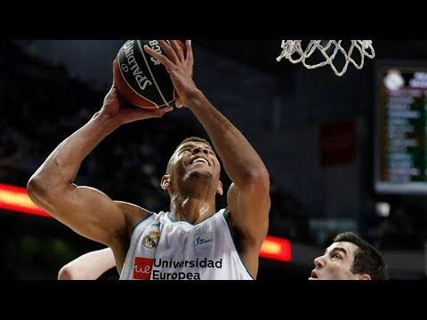 Walter Tavares Highlights 15 Pts, 13 Reb vs Fuenlabrada 14.01.2018