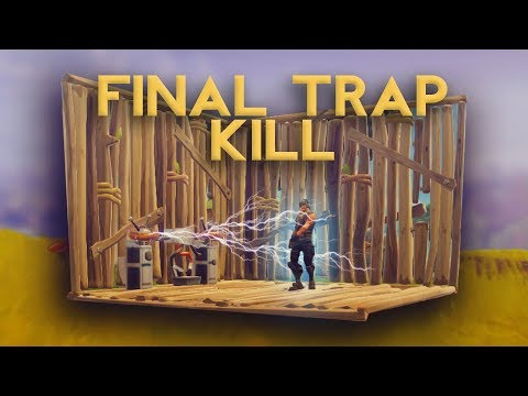 SMOOTHEST TRAP KILL FOR THE WIN! OMG! (Fortnite Battle Royale)