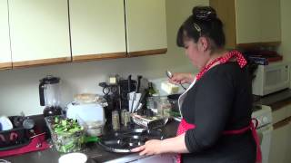 Middle Eastern Grilled Lamb Platter Pt 1-w/ Yogurt Tzatziki, Quinoa Tabouli & Pita Bread