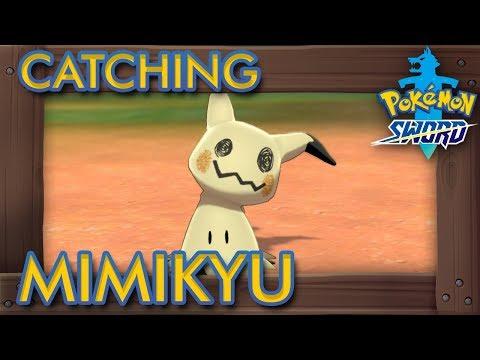Pokémon Sword & Shield - How to Catch Mimikyu (3% Rarity Pokémon)