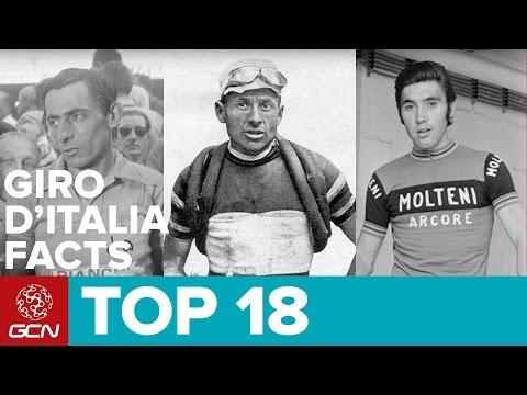 Top 18 Giro D'Italia Facts