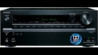 onkyo tx nr636 and dolby atmos