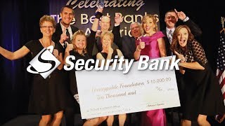 2017 Extraordinary Bank Of The Year, Security Bank
