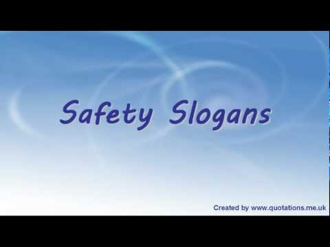 ♦●♦ Safety Slogans - Famous Healthy and Safety Slogans ♦●♦