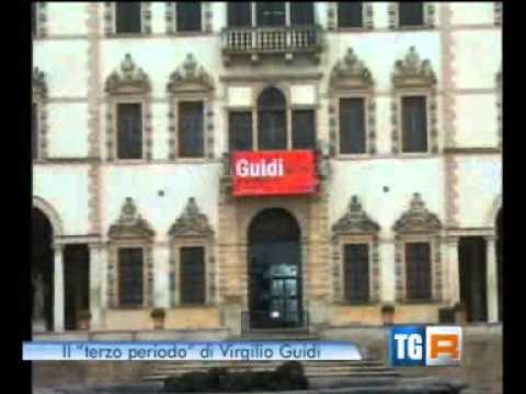 Servizio del TGR Veneto su mostra di Virgilio Guidi a Villa Contarini