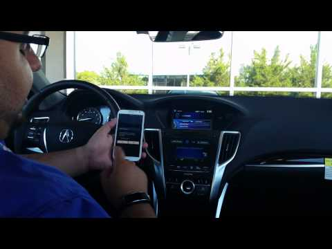 How to set up a Bluetooth  with Acura Link 20