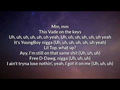 Youngboy Never broke Again -Fine By Time official lyric video.