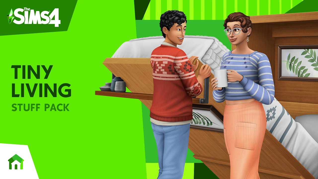 The Sims™ 4 Tiny Living: Official Trailer thumbnail