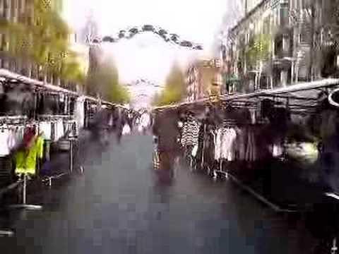 Dappermarkt Amsterdam - YouTube