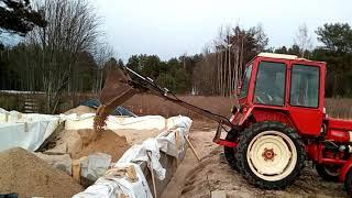 Tractor back loader T25
