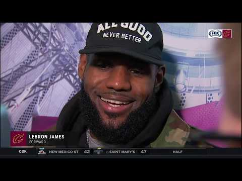 LeBron's classic response to Enes Kanter after Cavs' comeback win over Knicks