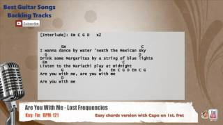 Are You With Me - Lost Frequencies Vocal Backing Track with chords and lyrics