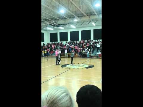 Best pep rally ever at Jennings middle school