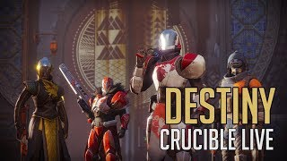 Destiny 2 - First Time Playing Crucible (Live Gameplay)