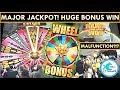 ★MAJOR WIN!★ Walking Dead Slot Machine - HUGE BONUS WIN!!! I broke the machine and still won!