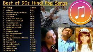 Best of 90s Indian Hindi Pop Songs   Superhit 90s Hindi Pop Songs    All-time Hindi Pop   Jukebox