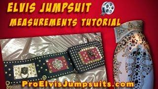 Elvis Jumpsuits Measurements 1 | Secrets To Measuring Your Elvis Jumpsuit