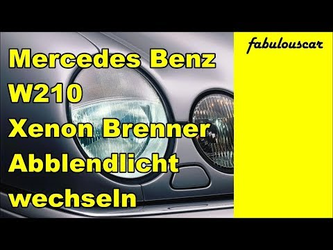 xenon brenner lampe abblendlicht wechseln mercedes benz. Black Bedroom Furniture Sets. Home Design Ideas