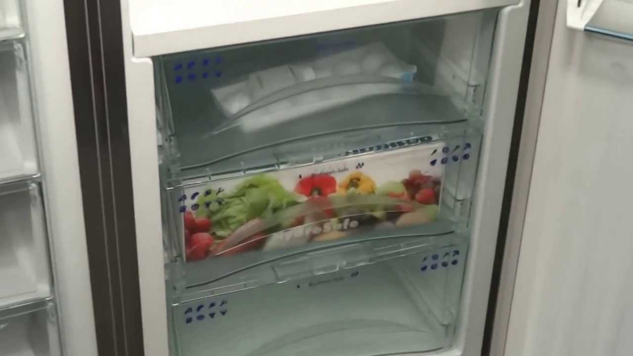 Side By Side Kühlschrank Liebherr : Liebherr sbses side by side fridge freezer youtube