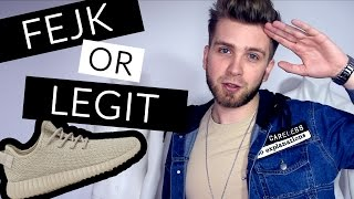 FEJK or LEGIT? - Jak rozpoznać PODRÓBY ?! - sneakersy