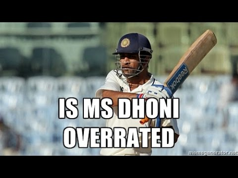 MOST OVERRATED CRICKETERS
