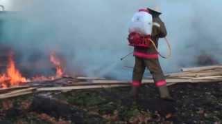 Обучение тушению лесных пожаров системой ГИРС 120-РБ представителей служб защиты лесов, г.Оренбург