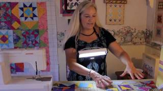 Flying Geese & Star Quilt using Fat Quarters- part 2- assembly