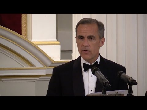 Governor Mark Carney speaks at the Mansion House on 10 June 2015