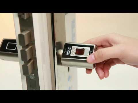 4 Fingerprint Unlock Demo - WE.LOCK Smart Door Lock