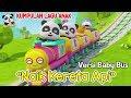 Naik kereta api lagu anak terbaru Kartun Baby Bus Naik kereta api tut tut tut