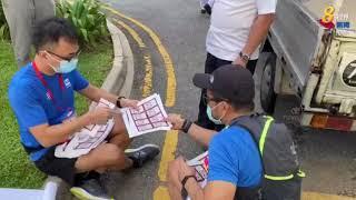 【新加坡大选】提名结束 各选区弥漫大选氛围