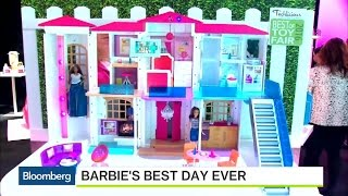 Barbie's Getting a New Dreamhouse... And a Hoverboard