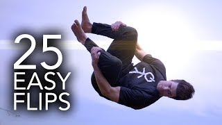 25 Easy Trampoline Flİps Anyone Can Learn