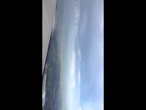 kuwait airways flight is about to land in manila philippine