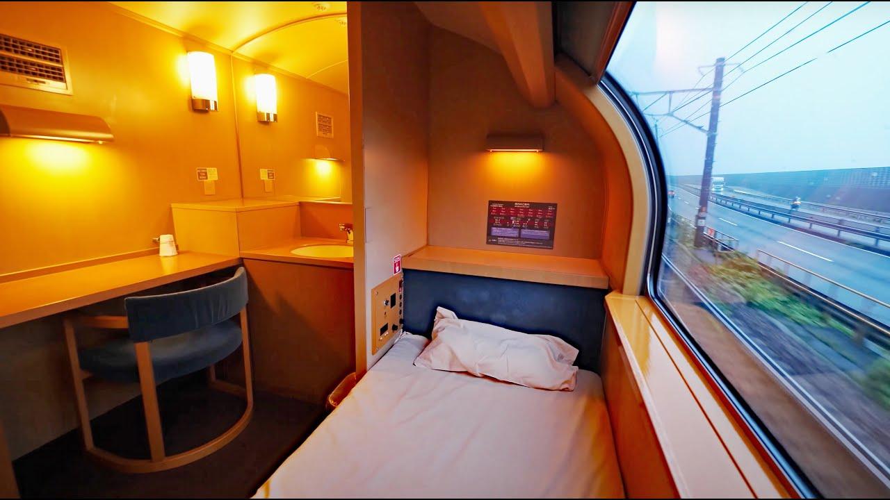 【大阪→東京】寝台特急サンライズの最高級設備、シングルデラックスで移動!