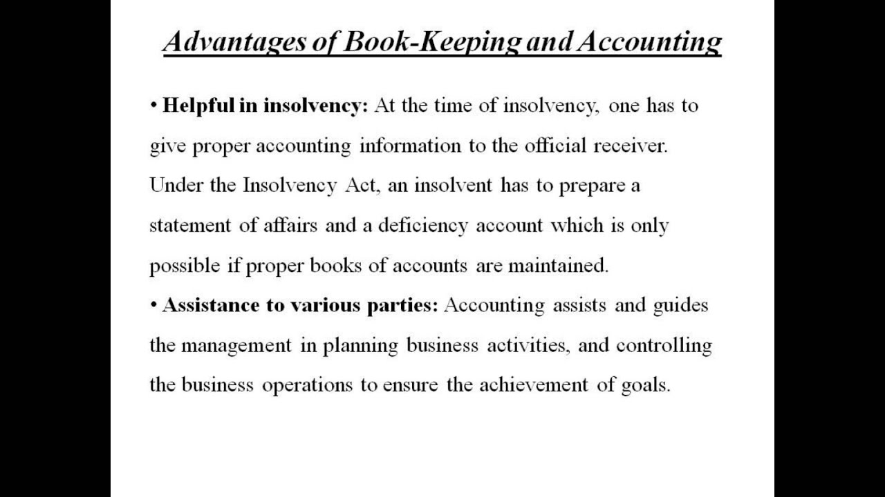 advantages of book keeping and accounting accounting homework advantages of book keeping and accounting accounting homework help by classof1 com