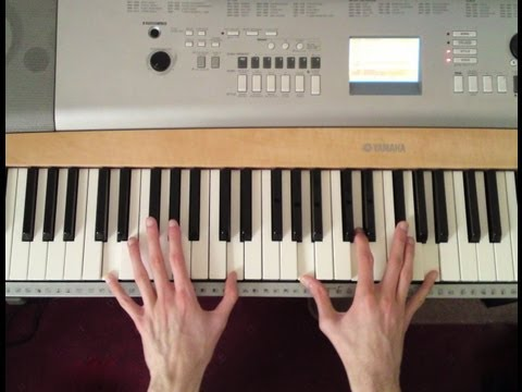 How To Play My Immortal by Evanescence On Piano - Part 1