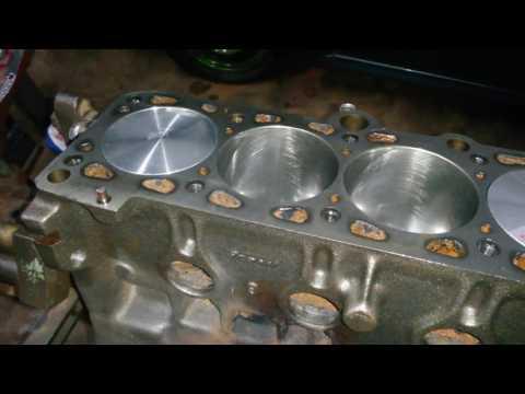 Montagem Bloco AP 1.8  Ford / Corcel AP 20v Turbo