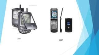 LA EVOLUCIÓN DEL TELÉFONO MÓVIL