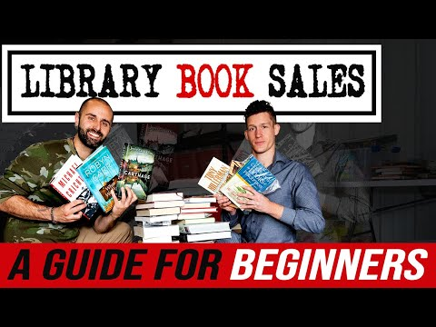 Library Book Sales: A Guide for Beginners - Step by Step Tutorial thumbnail