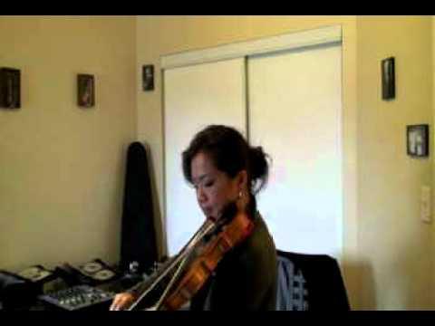 Violin solo rehearsal with Violinist Praise Lam.avi