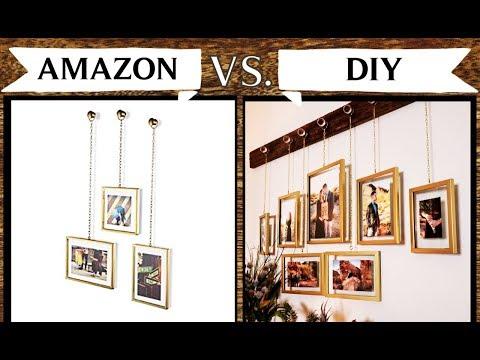 DIY Amazon-Inspired Hanging Frames