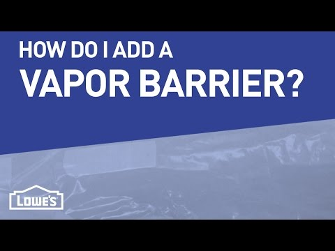 How Do I Add A Vapor Barrier To My Crawl Space? | DIY Basics